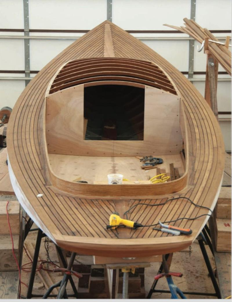 Hull Raiser publication - photo © North West School of Wooden Boat Building