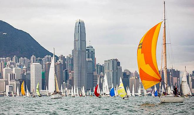 Turkish Airlines Around The Island Race 2018 At Royal Hong Kong Yacht Club Preview