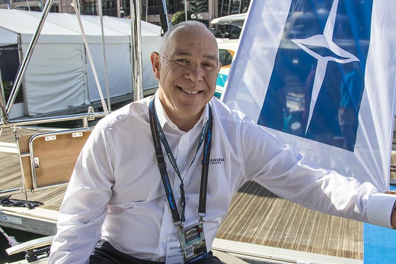 Bavaria Yachts CEO, Michael Müller at the 2019 Sydney International Boat Show - photo © John Curnow