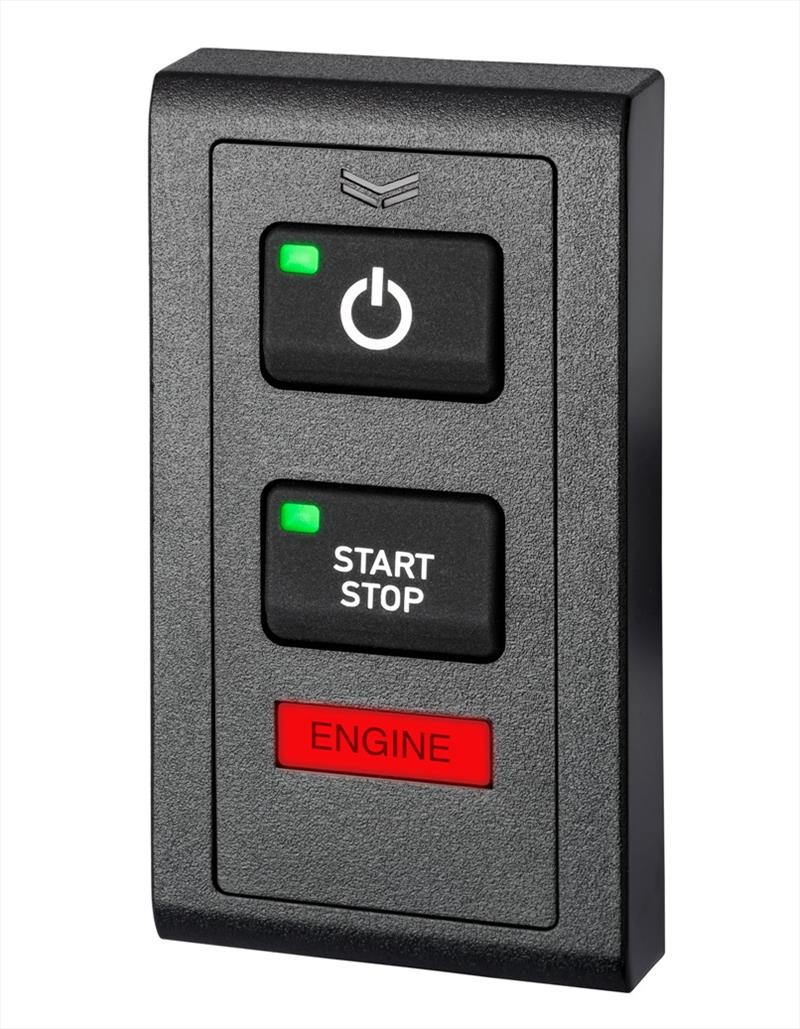 The new Yanmar VC20 Vessel Control System switch panel - photo © Saltwater Stone
