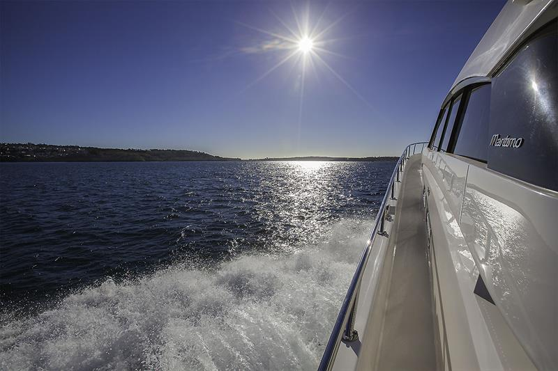 Uncompromising ride is what the Maritimo X60 is all about. - photo © John Curnow