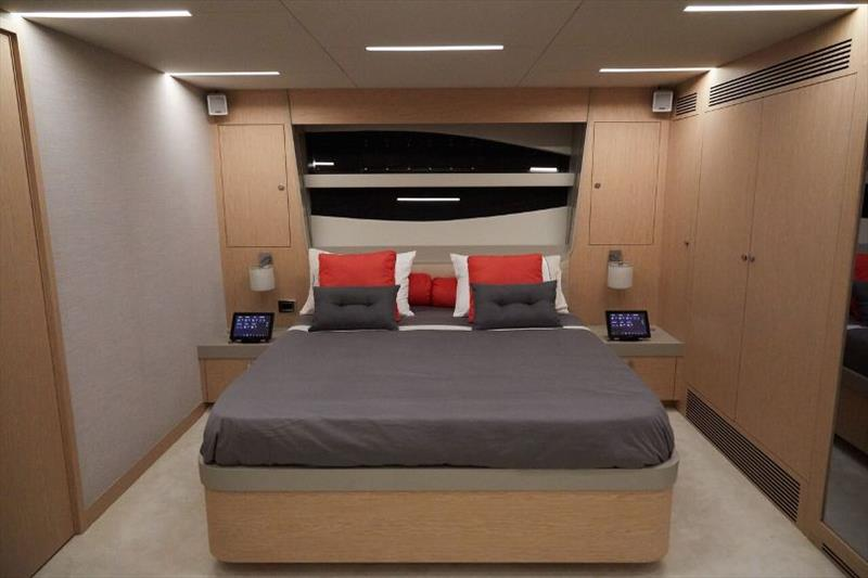 Adonis Master Cabin - photo © Numarine