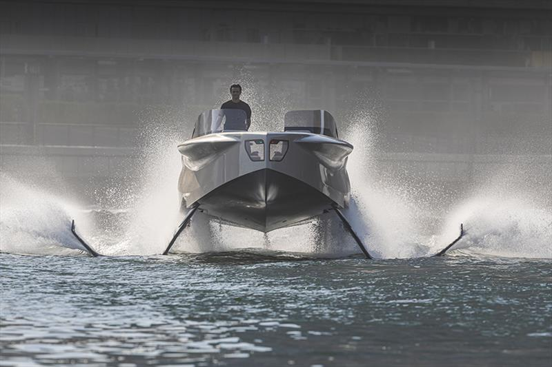 Enata new 2020 Foiler photo copyright Guillaume Plisson taken at  and featuring the Power boat class