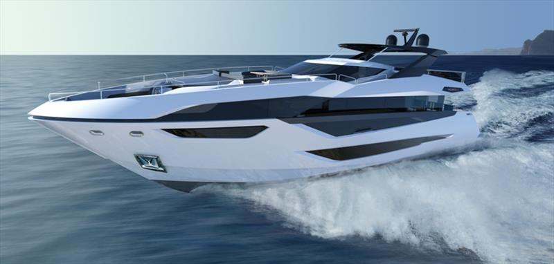 Sunseeker's new 100 Yacht - photo © Sunseeker International