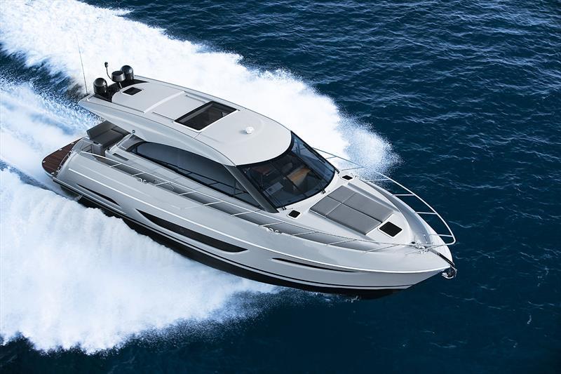 Maritimo's very new and enhanced X50R - photo © Maritimo