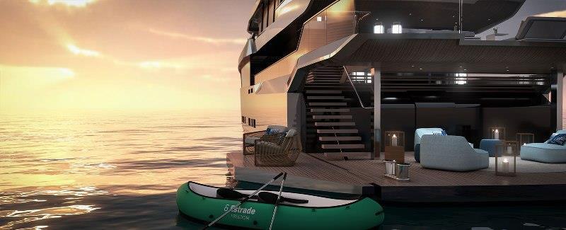 Estrade - 43m Motor Yacht - photo © Bannenberg & Rowell