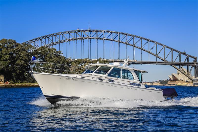 Sabre Yachts 45 - photo © E Marine Motor Yachts