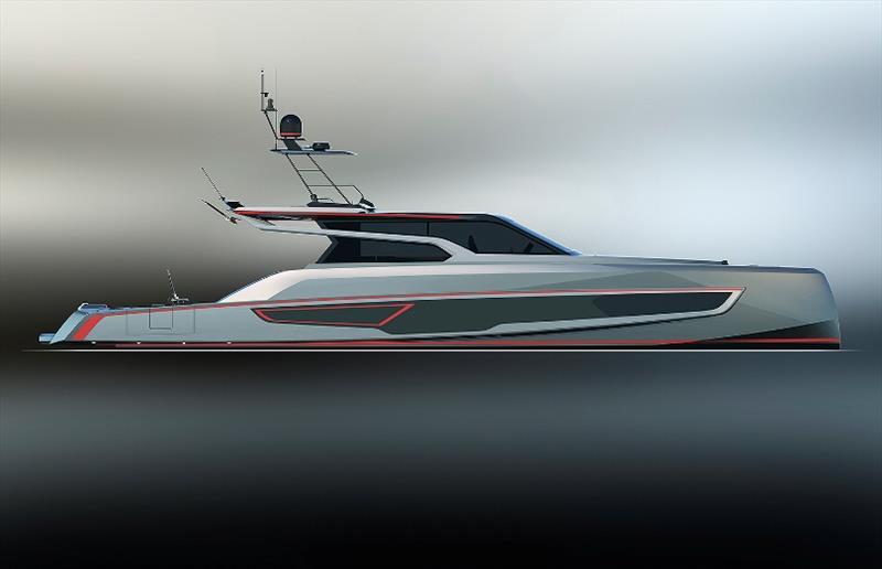 VQ80 - 24-metre custom sportfish - photo © Vanquish Yachts