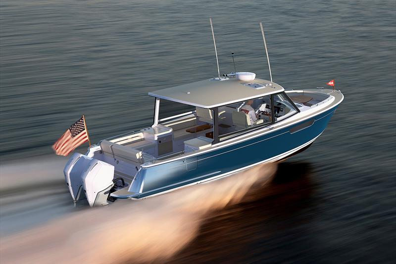 Running with MJM's new 3z - photo © MJM Yachts