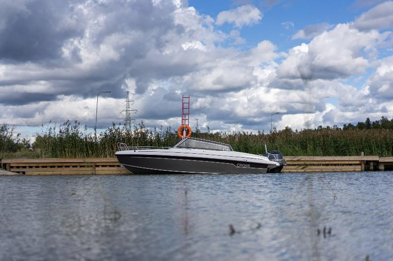 In traditional Cross fashion, the new flagship model combines the practicality of an aluminium hull with the stylish appeal of a GRP deck. photo copyright Yamarin Cross taken at  and featuring the Power boat class