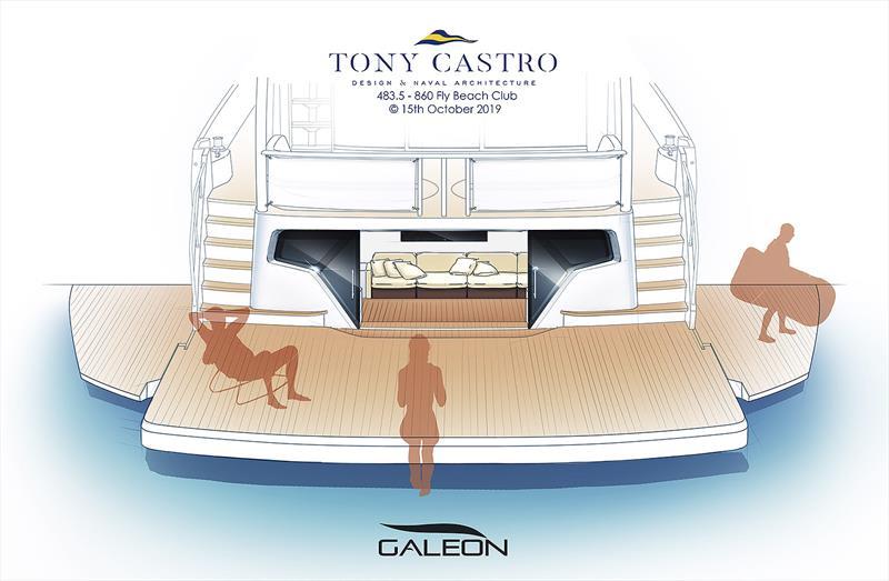 Beach Club experience for Galeon Yachts - photo © Tony Castro Yachts