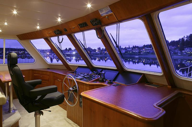 The Bridge of the first Bray 86 foot Ocean Series - photo © Bray Yacht Design & Research