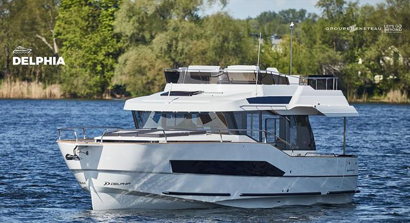 Could Delphia become an all electric brand, or at least their leadhouse for the tech? - photo © Groupe Beneteau