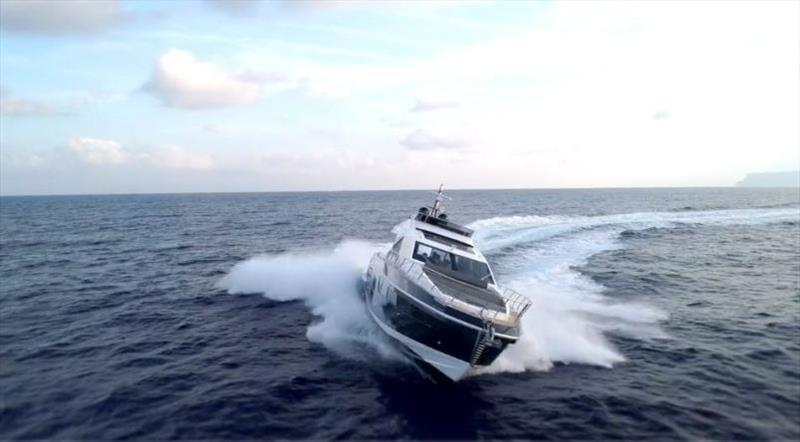 Azimut Yachts and Radinn: a never-ending summer photo copyright Azimut Yachts taken at  and featuring the Power boat class