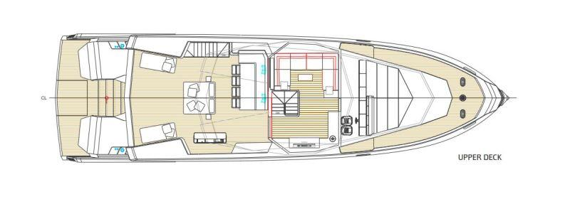 WHY200 - Upper deck - photo © Wally Yachts