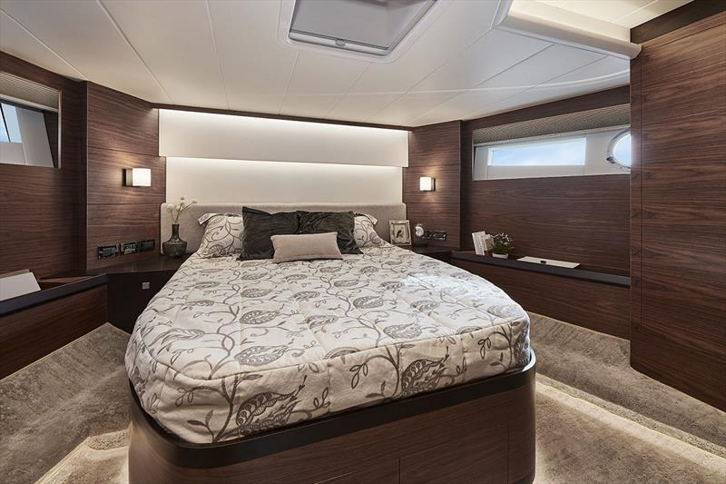 Horizon V68 Hull  Four - VIP stateroom photo copyright Horizon Yachts taken at  and featuring the Power boat class
