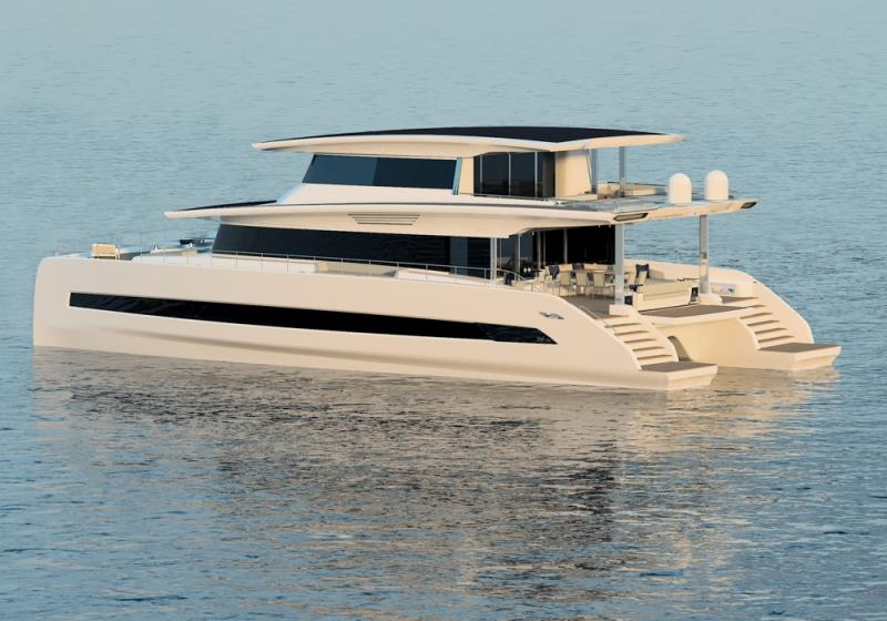 Silent 80 Tri-Deck - 3 deck closed version - photo © Silent Yachts