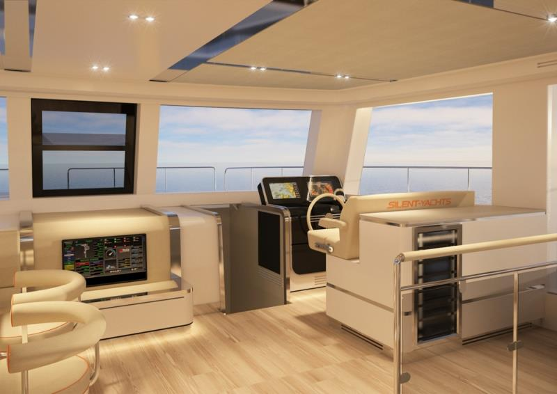 Silent 80 F Salon - photo © Silent Yachts