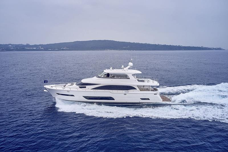 Horizon E81 photo copyright Horizon Yachts taken at  and featuring the Power boat class