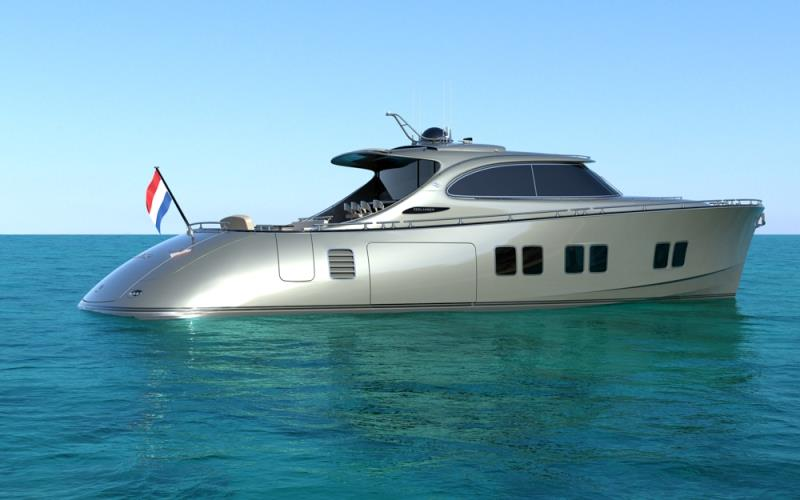 New options rendering photo copyright Zeelander Yachts taken at  and featuring the Power boat class
