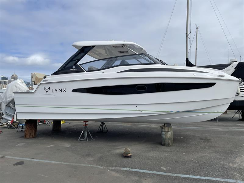 The first of the new Aquila 32 model to arrive in Australia - photo © Aquila