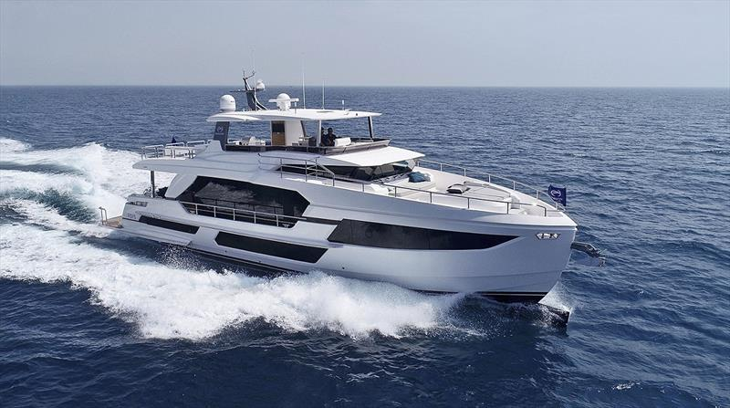 Horizon FD75 - photo © Horizon Yachts
