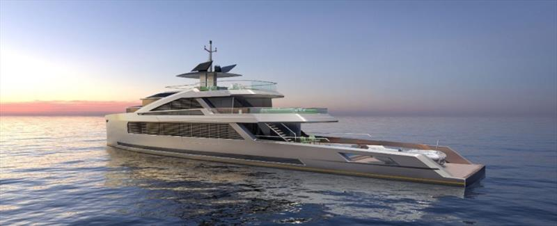 Project Isola - a 50m, sub 500 GRT, motor yacht - photo © Bannenberg & Rowell