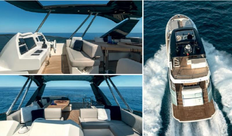 MCY 66 photo copyright Monte Carlo Yachts taken at  and featuring the Power boat class