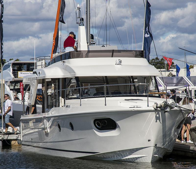 New Beneteau Swift Trawler 41 brings some new features to this super-selling range. - photo © John Curnow