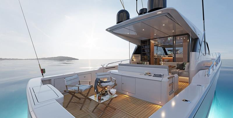 Maritimo S600 Offshore Sedan Motor Yacht - photo © Maritimo