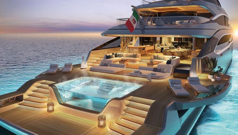 B.Now 66m Oasis beach club - photo © Benetti Yachts
