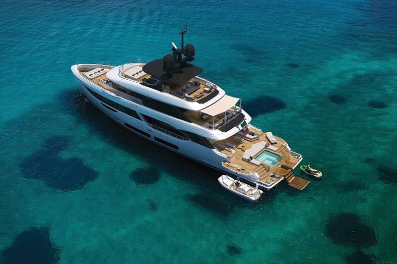 Oasis 34m - photo © Benetti Yachts