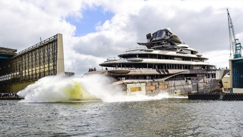 Project JAG - photo © Lürssen Yachts