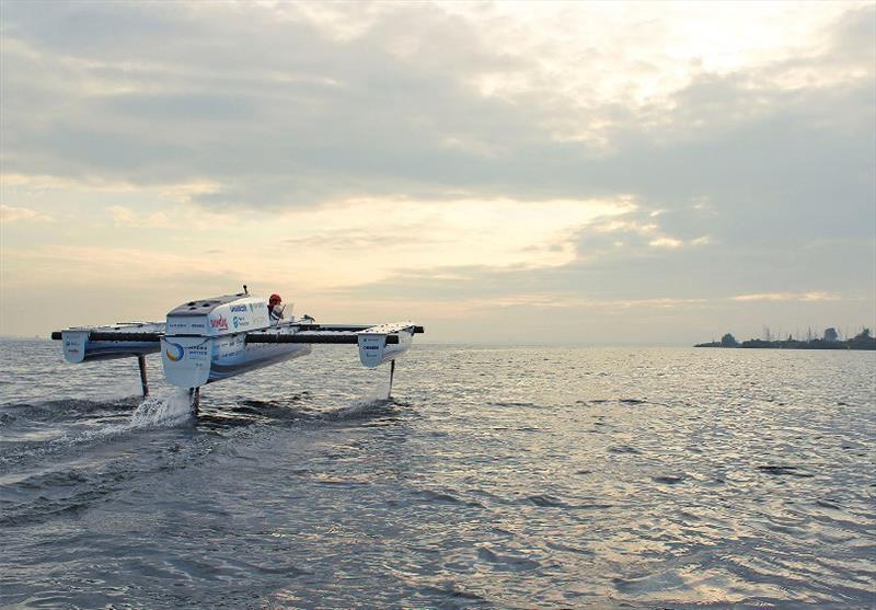 Hydro Motion Boat - photo © TU Delft Solar Boat Team