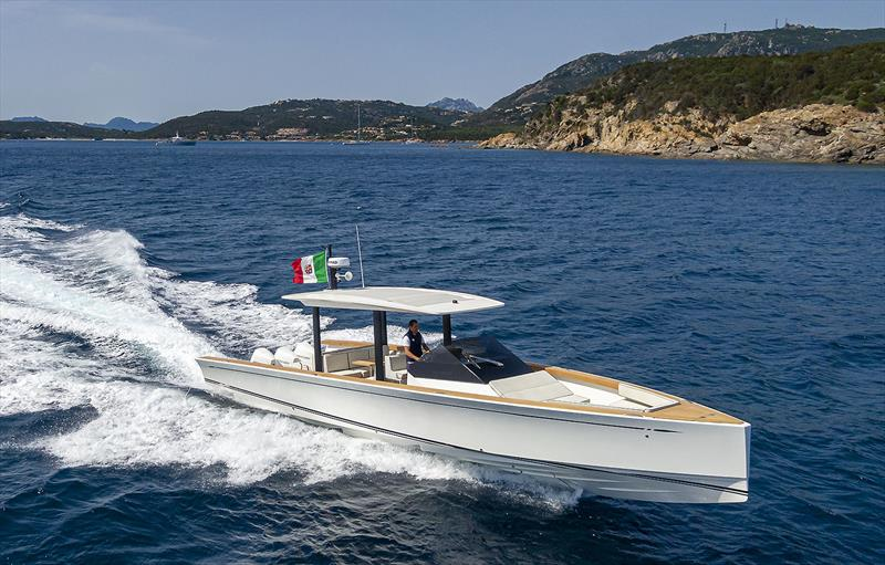 The new Swan Shadow at the Sardinia Challenge based out of Porto Cervo - photo © Nautor's Swan