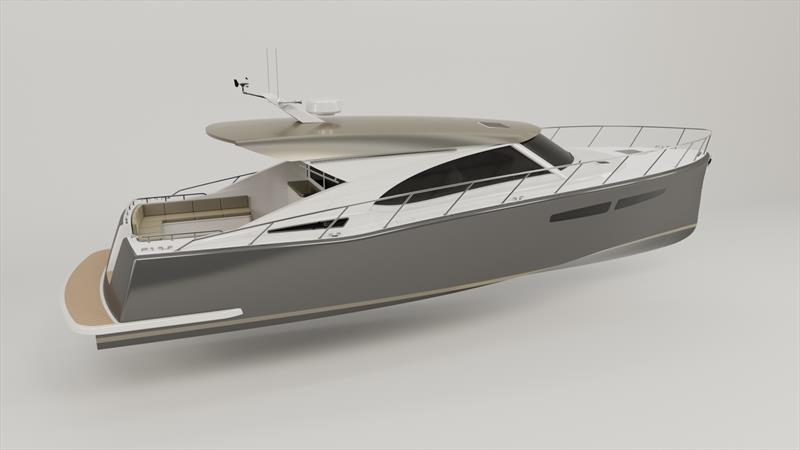 The new Cape45 - photo © The new Cape45 from Composites Constructions