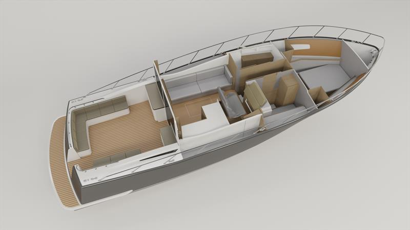 The new Cape45 from Composites Constructions - photo © Composites Constructions