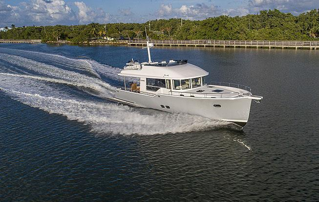 Slipping along on board the Outback 50. - photo © Outback Yachts
