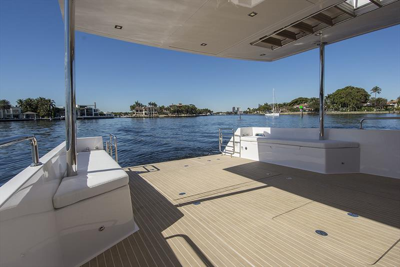 When they said real estate out back, they meant REAL estate. - photo © Outback Yachts
