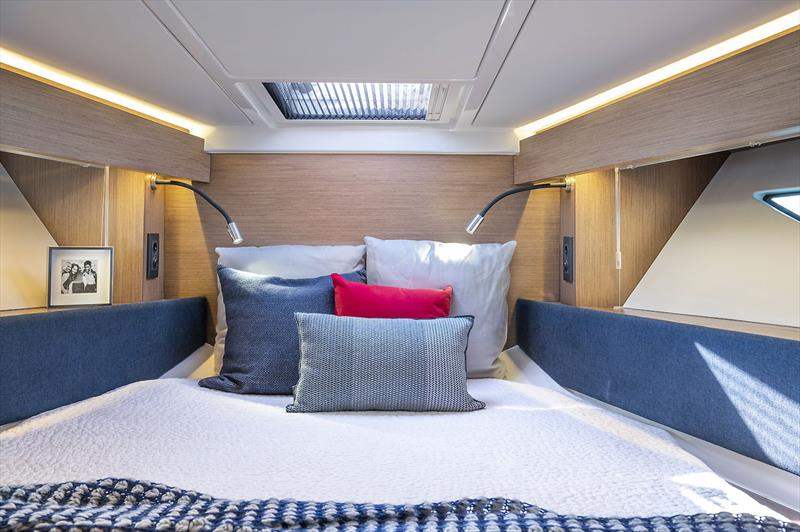 For'ard Master Stateroom of the Beneteau Gran Truismo 36 - photo © Beneteau