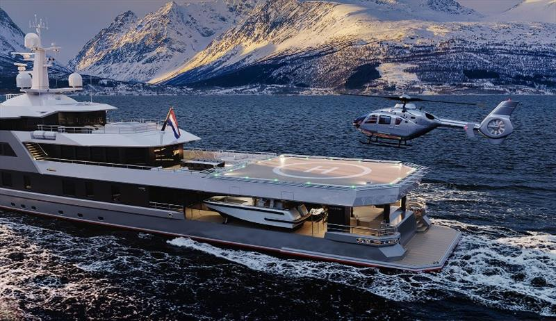 SeaXplorer 60 - photo © Amels/Damen Yachting