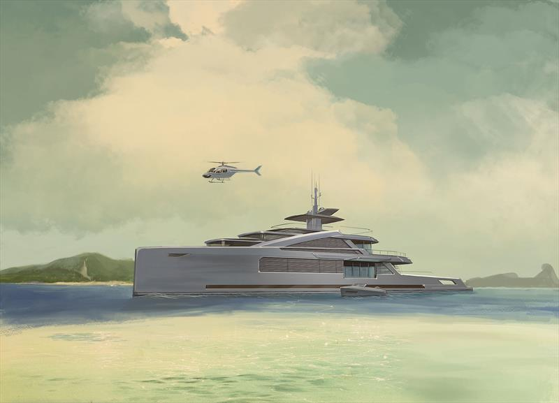 Project ISOLA - 50m and under 500GT - photo © Bannenberg & Rowell