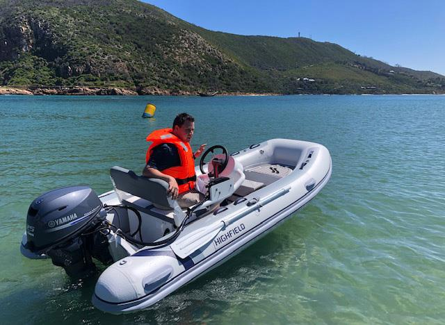 Knysna Yamaha appointed as South Africa distributor for the Highfield Boats RIB and tender range - photo © Highfield Boats